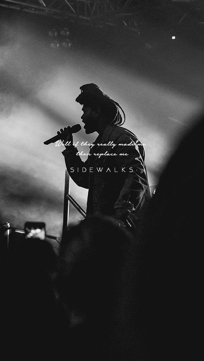 Phone Wallpapers (Lock Screen) - The Weeknd - Sidewalks (Feat. Kendrick Lamar) - Wattpad