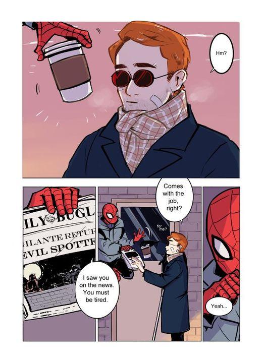 Spider man im not gay
