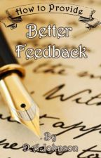 """Are you in a book club and having a hard time trying to provide feedback more detailed than """"Great description!"""" or """"Missing a period""""? Then this book is for you!Each chapter provides a breakdown of what makes up a story and things to keep in mind..."""