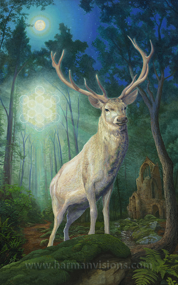 Mythological Creatures White Stag Wattpad