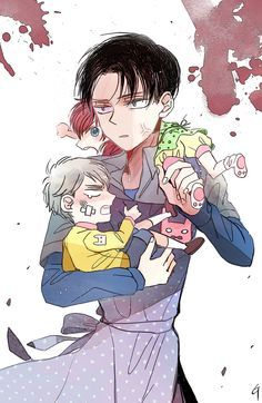 Attack on titan one shots baby sitting levi x reader wattpad