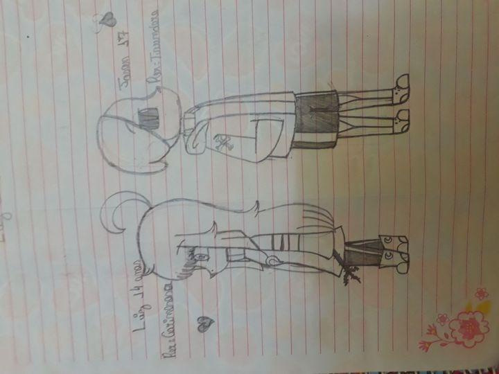 Meus Desenhos Lee E Jason Wattpad