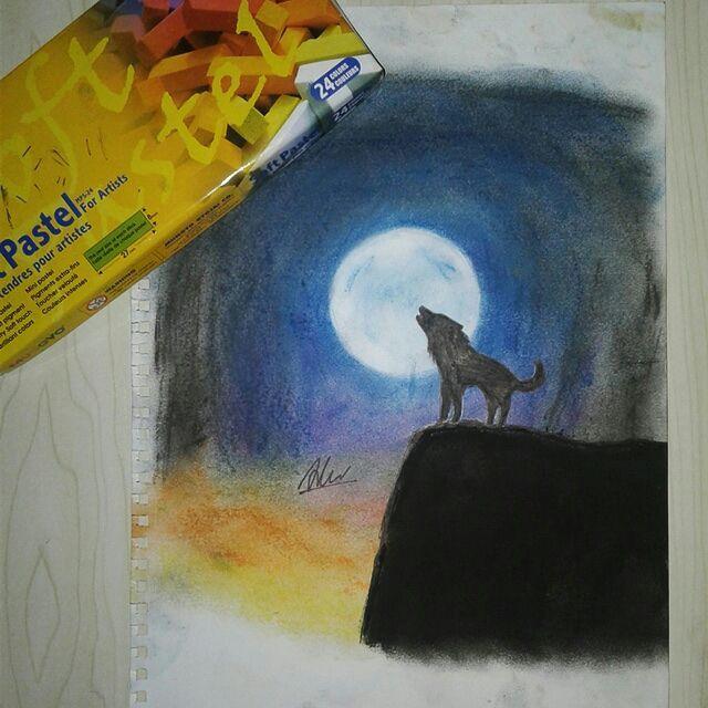 My Art Book My First Soft Pastel Art D Wattpad