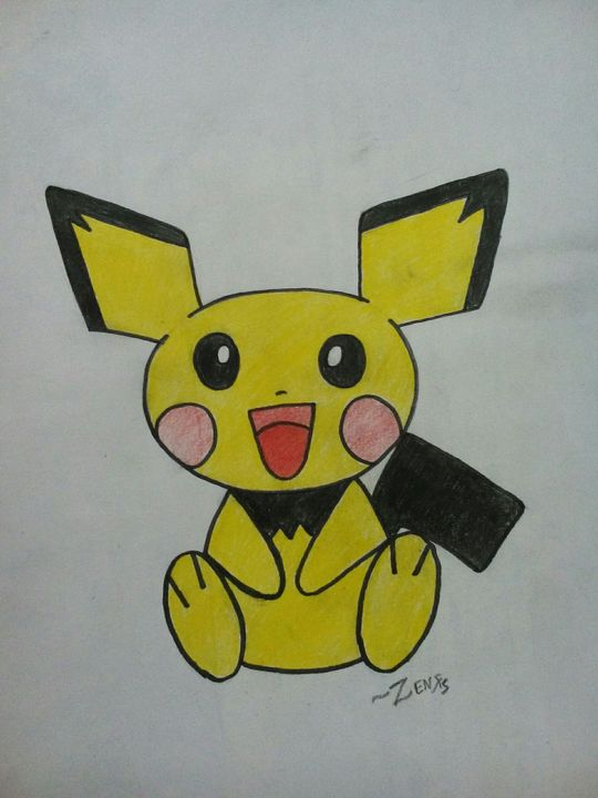 My Drawing Book - Pichu - Wattpad