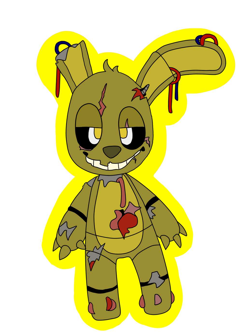 ask or dare fnaf springy what happend wattpad