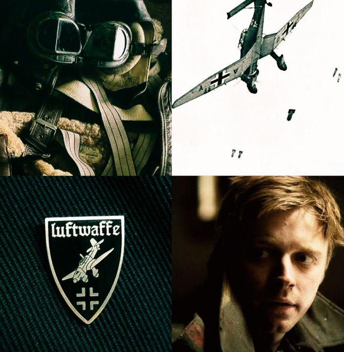 WOLFGANG von BACHENHEIM the enemy • the pilot