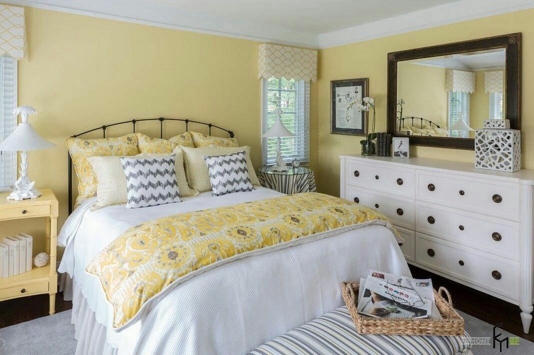 Since my favorite color is yellow, I asked my parents to decorate my room with this color from the moment could talk