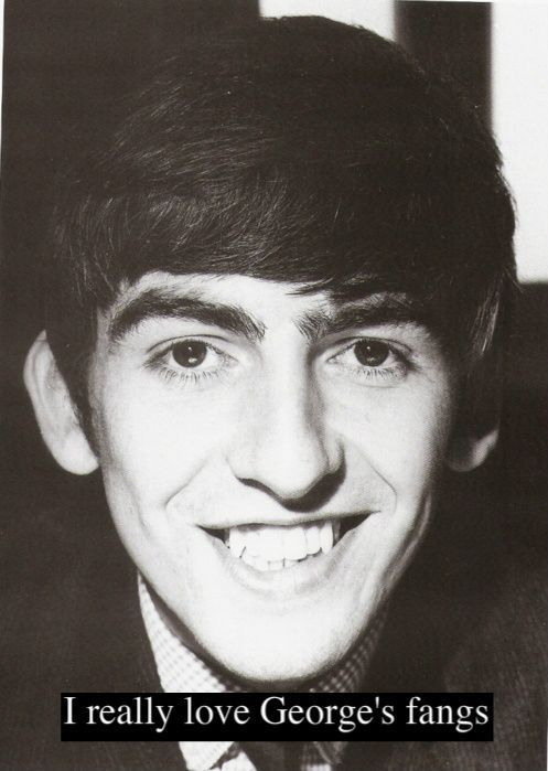 Who doesn't like George's fangs???
