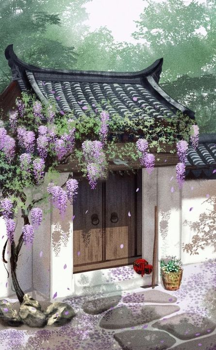 Mei Qing courtyard was where Zhao Mei had lived previously, and she had meticulously arranged and cared for every plant and tree within it