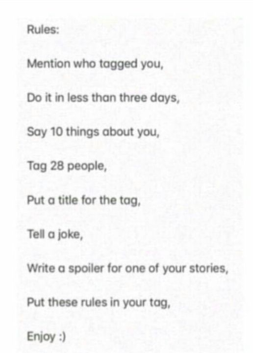 M'kaaaay~ -_Histoire_-  tagged me, thanks for the tag :3