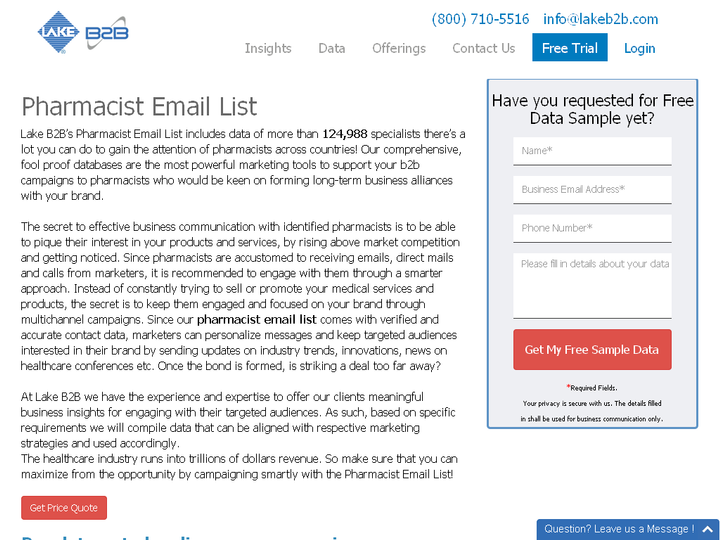 Pharmacist Email List - Pharmacists Email Database - Wattpad
