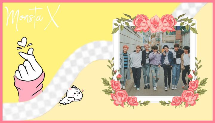 Happy anniversary to Monsta X! I hope they have many more successful years to come and that they are full with love 