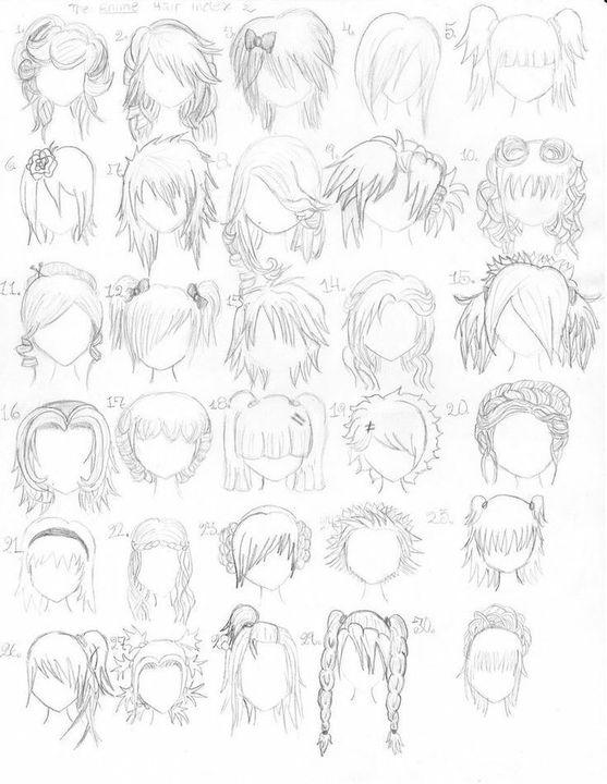 Manga Zeichnen Lernen Haare Wattpad