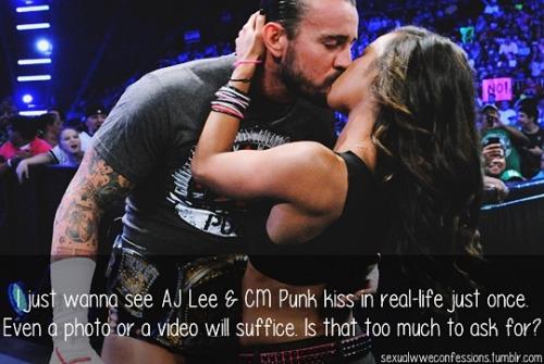 Aj Lee Hot Kiss