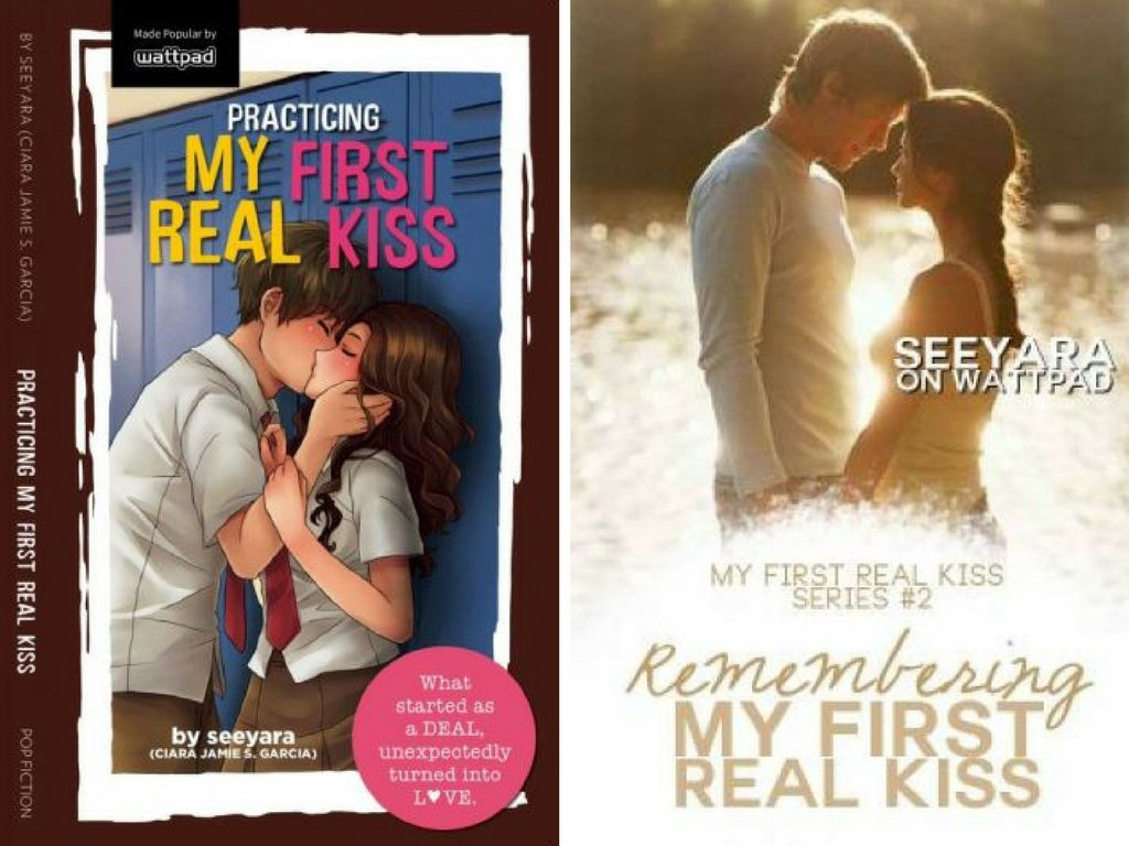 Practicing My First Real Kiss Book 2