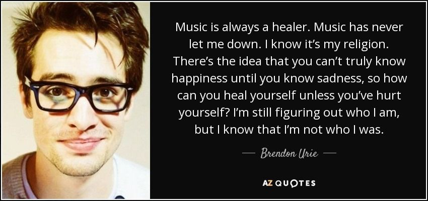 Brendon Urie Quotes Famous Quotes   Brendon Urie Quotes   Wattpad Brendon Urie Quotes