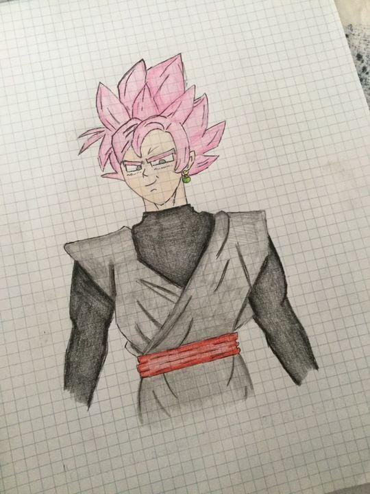 I Miei Disegni Di Dragon Ball Black Goku Wattpad