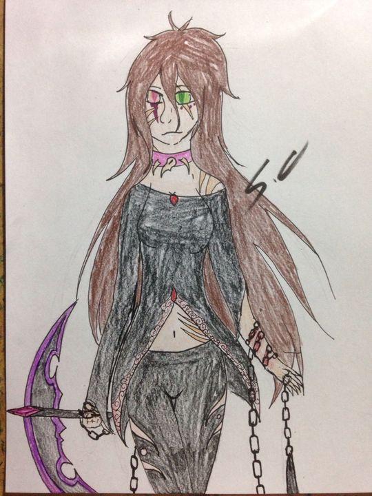 My art - Demon reaper - Wattpad