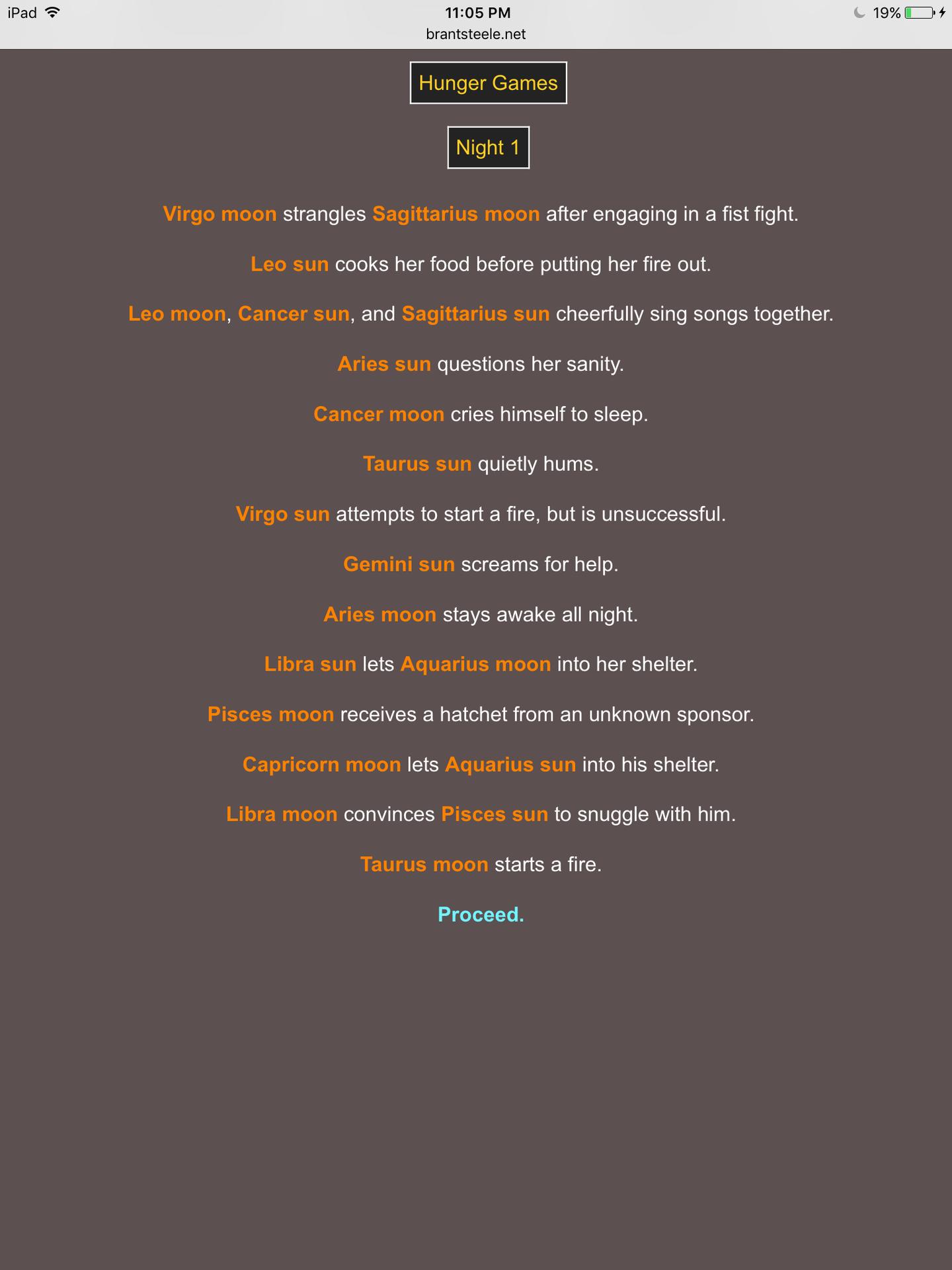 zodiac signs - Hunger Games Simulator! {pt  1} - Wattpad