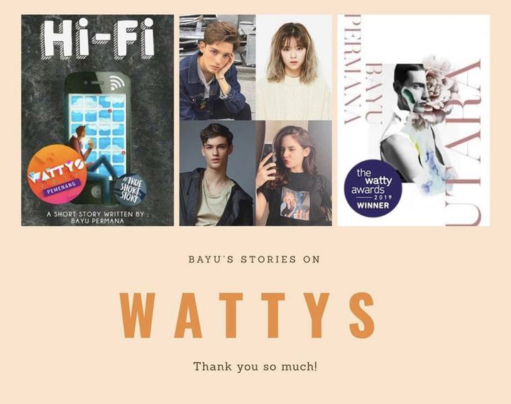 Mengulang dari tahun 2017, sewaktu Hi-Fi menang Wattys juga di kategori The Originals