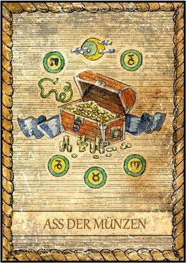 Tarot Ein Blick In Die Zukunft Ass Der Münzen Wattpad