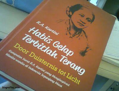 Kisah R A Kartini Terbitnya Buku Habis Gelap Terbitlah Terang