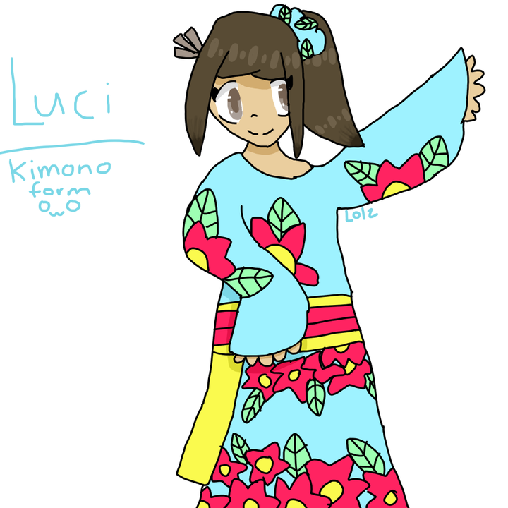 ART———————————————Here's art of Luci ( from this story ) that I made: