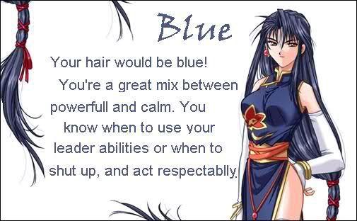 Anime Hair Color Meanings Blue Wattpad