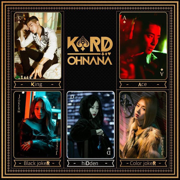 ea2f696a2 ❤ Kpop Profiles ❤ (w/ Picture of each group members ) - KARD ...