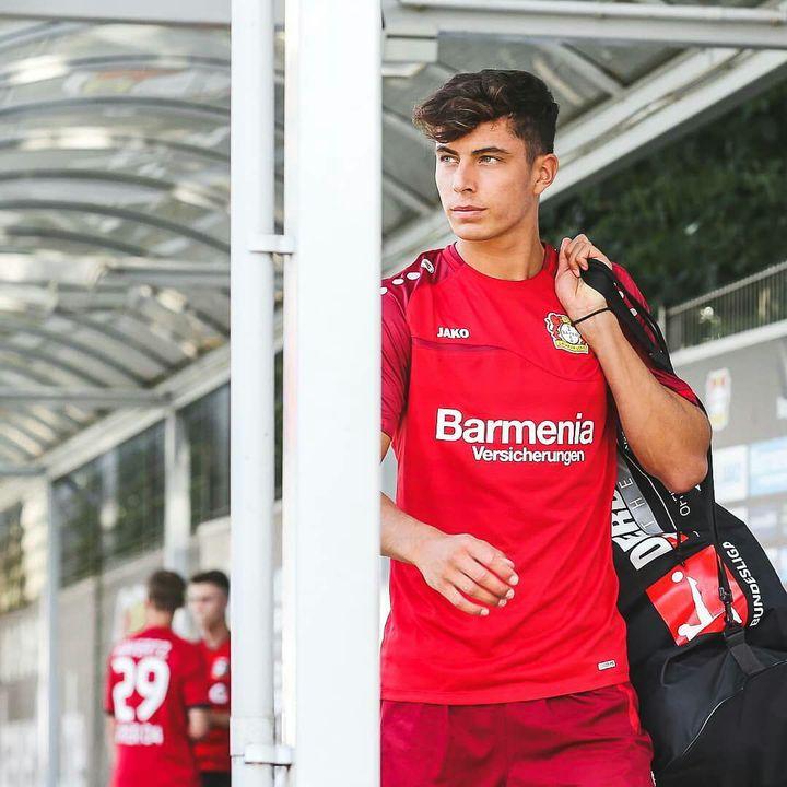 ▶ Kai Havertz (German National Team & Bayer 04 Leverkusen)