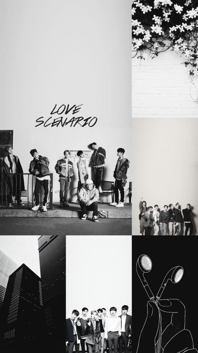 Kpop Aesthetic Collage Requests Closed Ikon Black And White