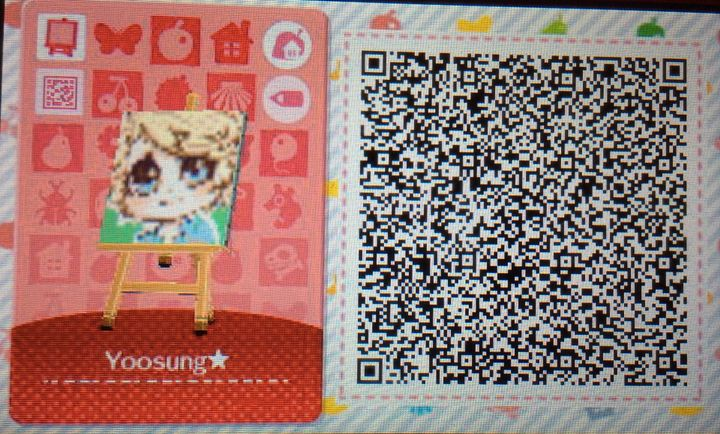 Animal Crossing: New Leaf / Happy Home Designer Anime QR