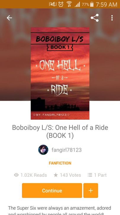 9ac4114e3 Tags and Notices - One Hell of a Ride: 1K Views! - Wattpad
