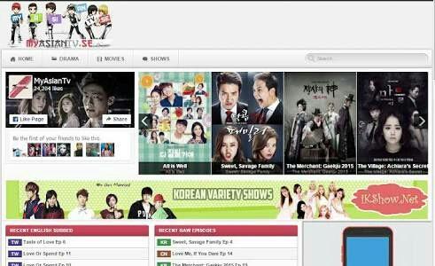 Drama Website