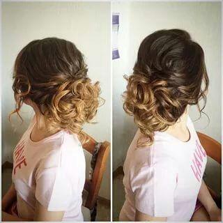 Прическа на свадьбу волосы чуть ниже плеча