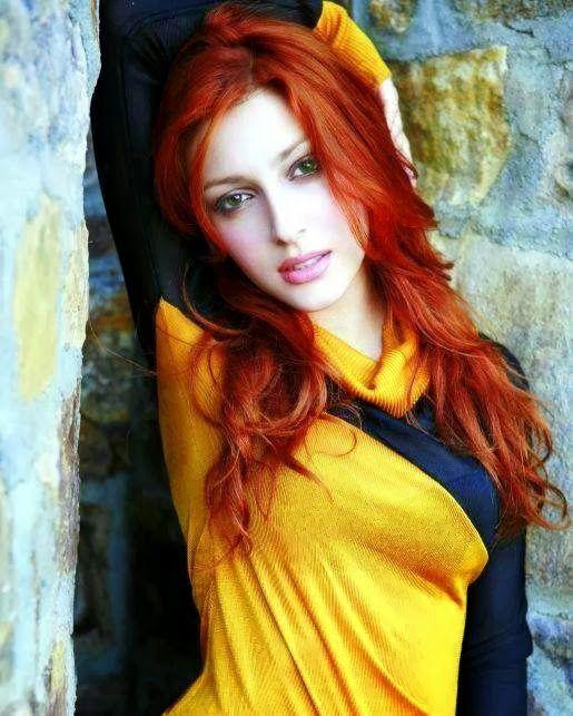 Seems excellent elena satine red hair