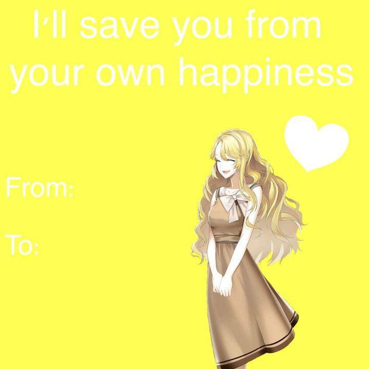 Mystic Messenger Valentine S Day Cards Rika 2 Wattpad