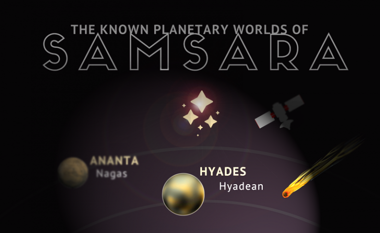 """""""Hyadeans are named after their home planet of Hyades"""