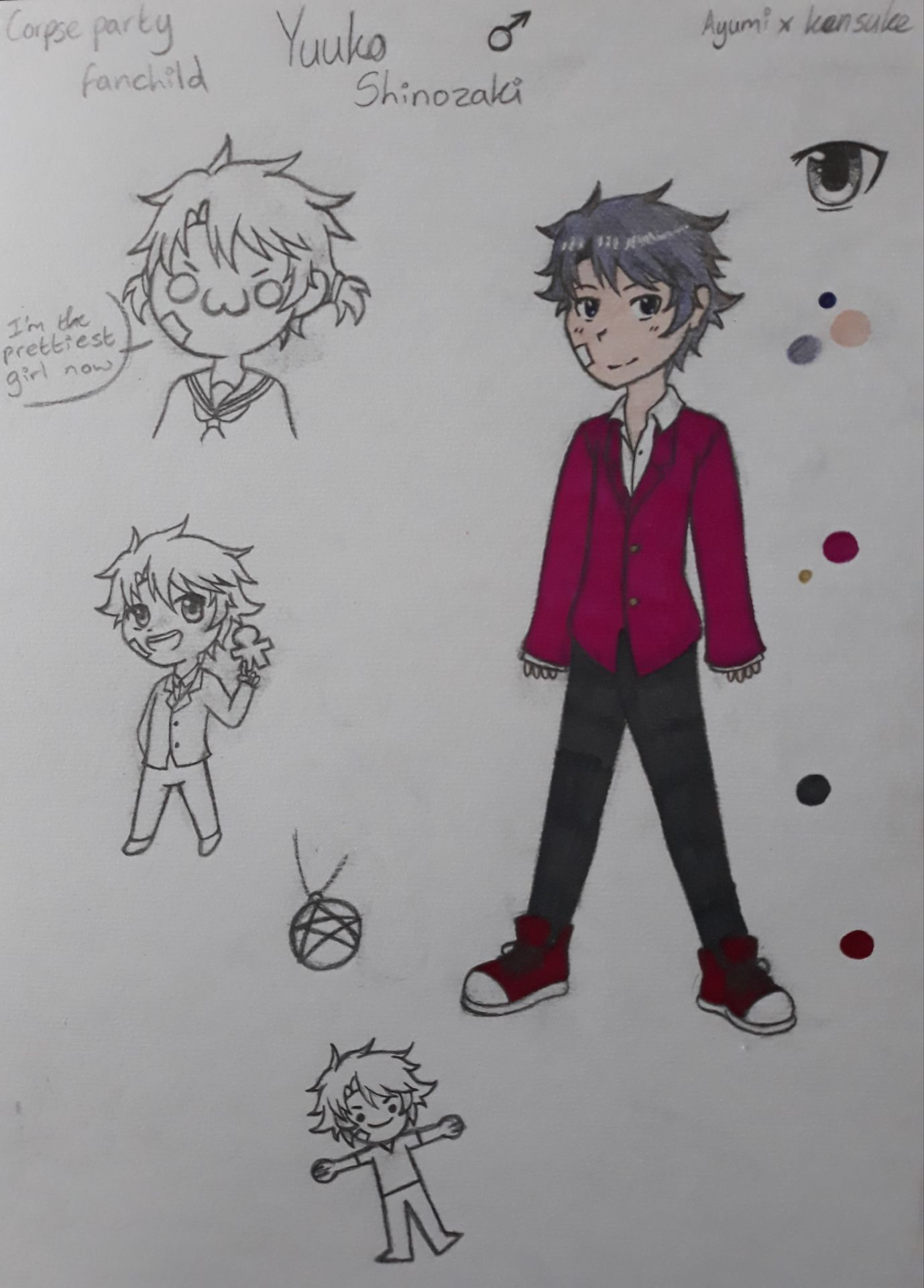 corpse party yuuya kizami fanart
