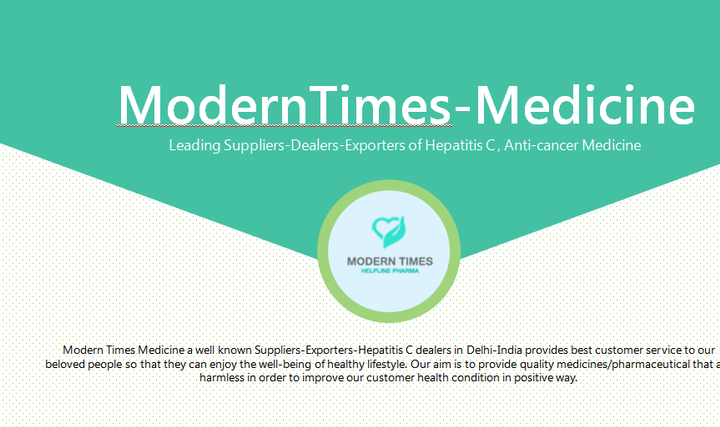 Leading Suppliers-Exporters Hepatitis C & Anti-cancer