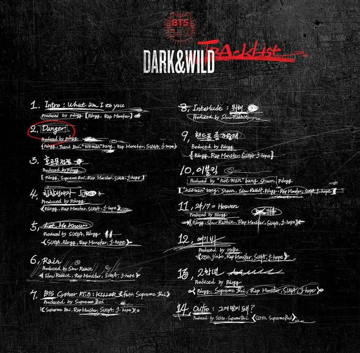 BTS Songs Lyrics (w/ english translation) - 1st Album: Dark