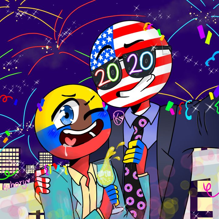 Feliz Año nuevo bbs🎉🎆🎇