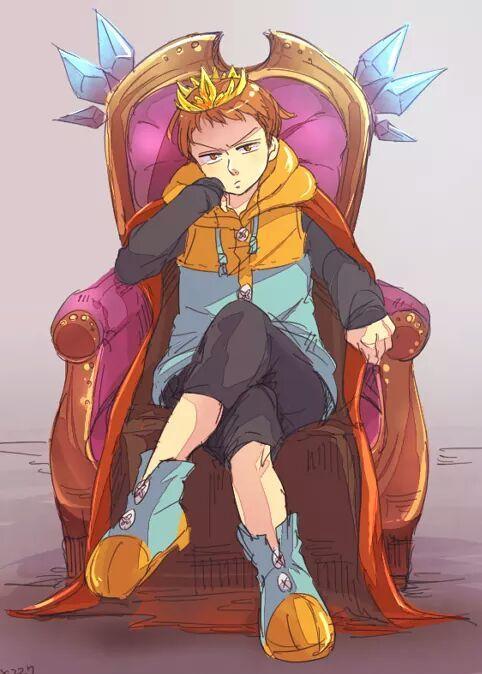 Ahora no tengo idea de lo que hacer, así que tendré ¿Clases?, emm me enseñaran a ser un buen Rey, o seo creo