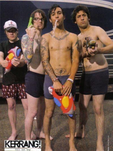 Pete wentz bulge your