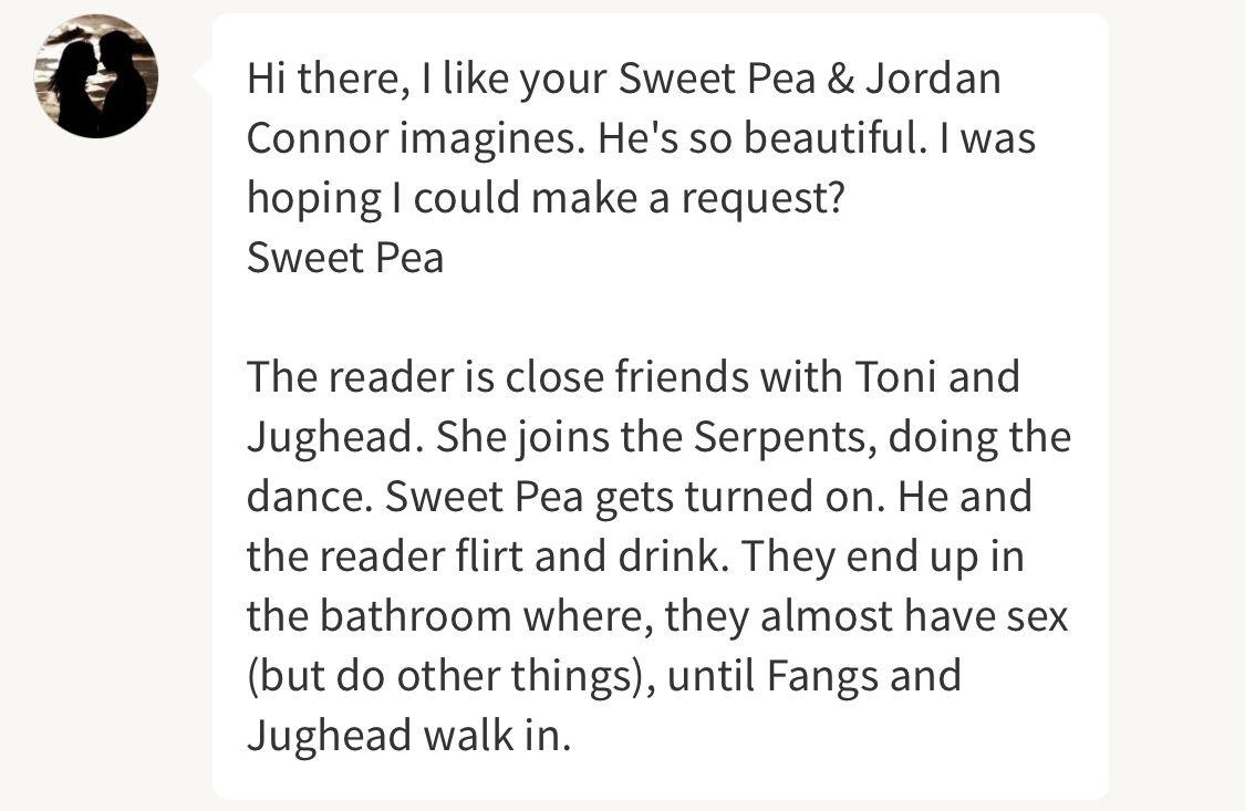 Sweetpea + Jordan Conner Imagines - Do it for Daddy || Sweetpea