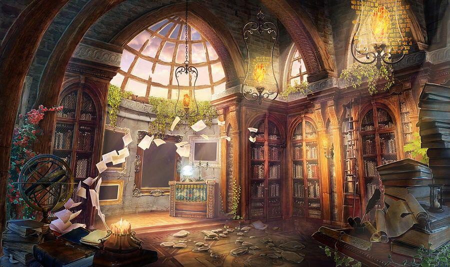 картинка академия волшебников ветер