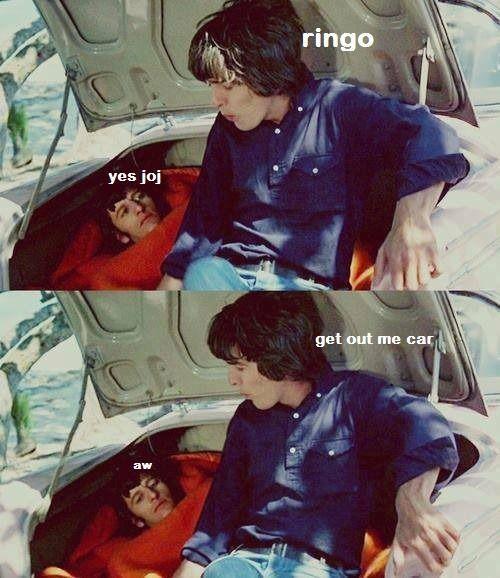 Aw, poor Ringo 😂😂😂