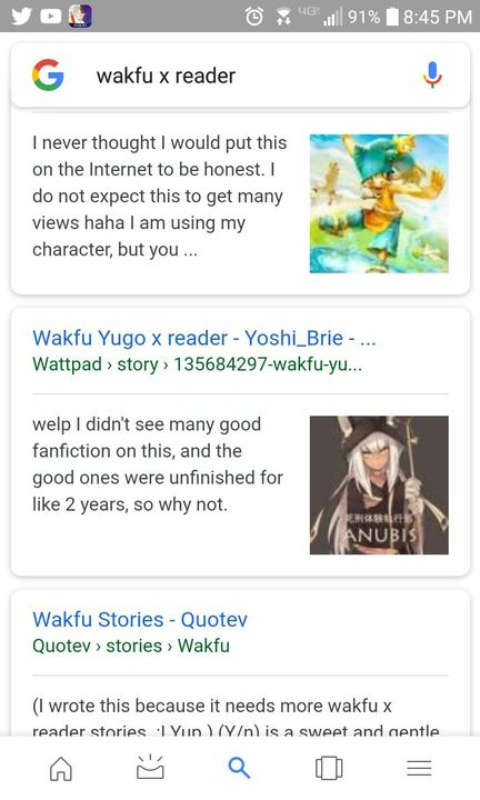 Wakfu Yugo x reader - I CAN TIN CAN GOOGLE MYSELF - Wattpad