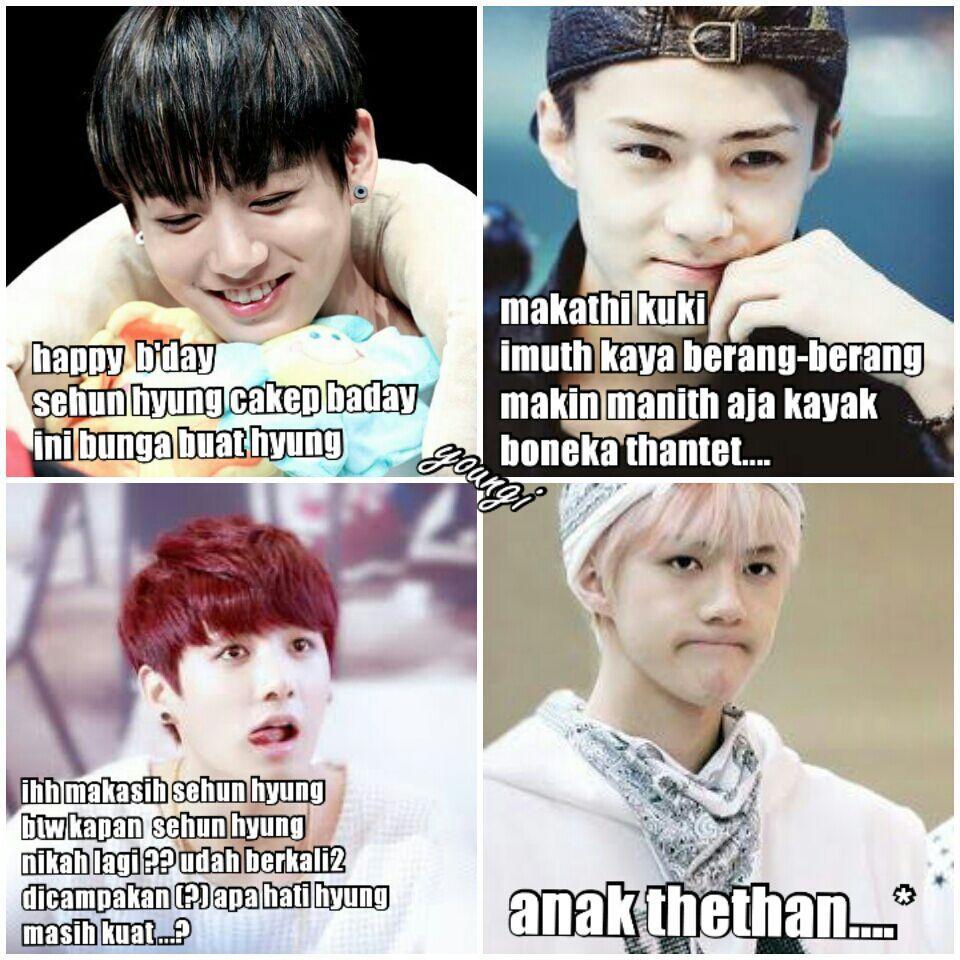 Meme comik bts part ii vkook taekook namjin yoonmin jhope