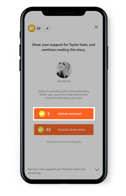We're excited about the opportunity Paid Stories creates for writers on Wattpad